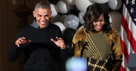 michelle obama halloween obamas dance to thriller at white house halloween party