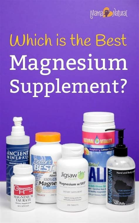Detox Miracle Magnesium by Which Is The Best Magnesium Supplement Best Magnesium