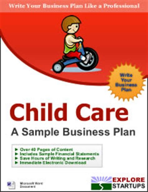 child care center business planexplore startups explore