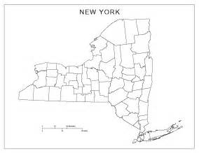 New York City Map Outline by New York Blank Map