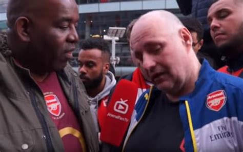 arsenal fan tv arsenal fan tv attacked by fellow supporters while trying