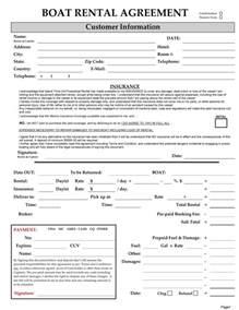 Blank Rental Agreement Template 30 basic editable rental agreement form templates thogati