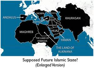 Map Of Islamic State by The Islamic State S Aspirational Map Geocurrents