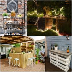 Creative Backyard Ideas On A Budget Creative And Low Budget Diy Outdoor Bar Ideas Diy Smartly