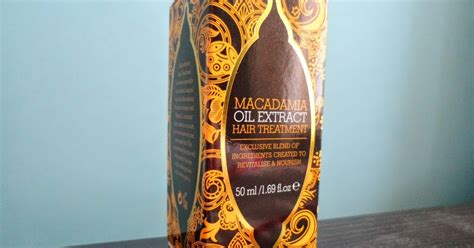 faeries  fashion macadamia oil extract hair treatment