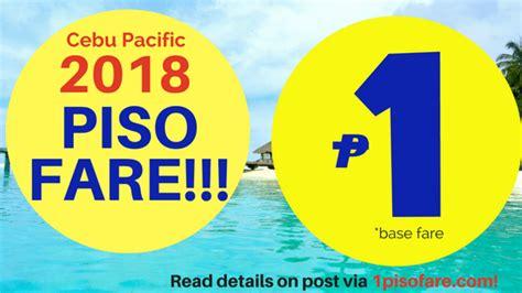 piso fare cebu pacific cebu pacific piso fare 2018 sale details