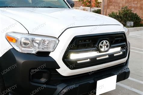 tacoma grill light bar toyota tacoma led light bar 2016 up toyota tacoma grille
