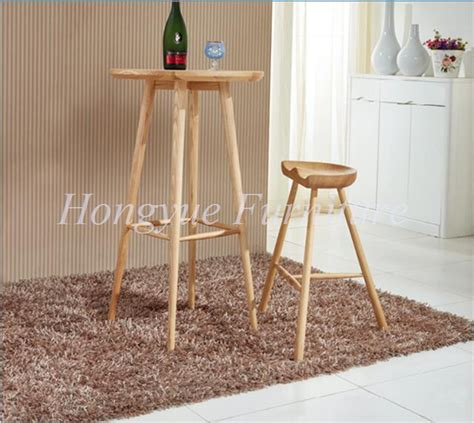 living room bar sets living room oak wood bar stool table furniture set in bar