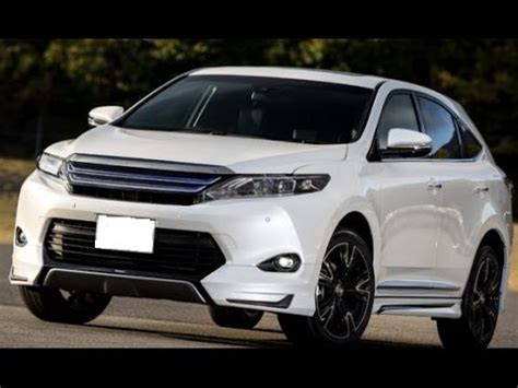 toyota harrier 2016 interior 2016 toyota harrier hybrid suv interior exterior review