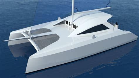 catamaran davit design arrow catamaran plans sailing build plan