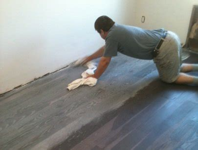 Refinish Your Kitchen Cabinets by Turn Your Wood Floors Gray New Floor Weathered Look