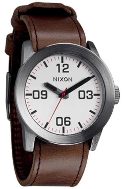 Quiksilver Chrono Leather Brown Silver Black nixon silver brown for sale at