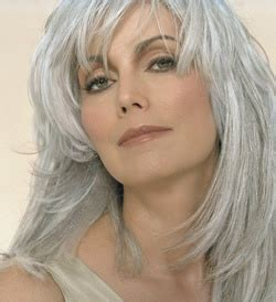 prominents gray hair 26 best authentic gray hair images on pinterest