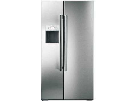 side by side kühlschrank siemens siemens k 252 hlschrank edelstahl side by side edna r gray