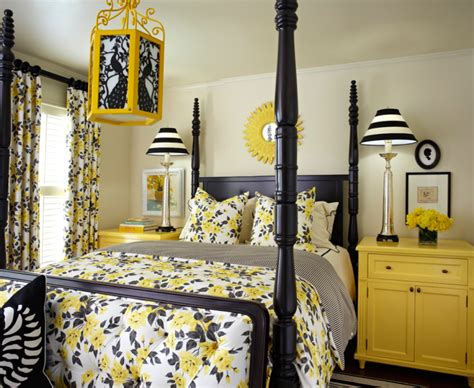 white and yellow bedroom black white and yellow bedroom ideas