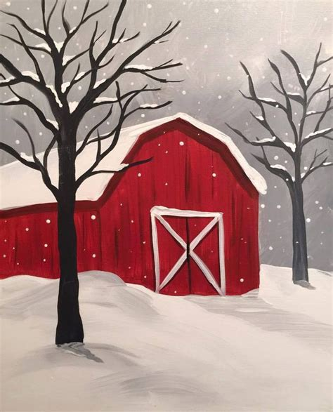 winter acrylic painting ideas 25 best ideas about canvas paintings on