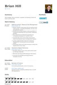 Treasury Accountant Sle Resume by Resume Service Treasury