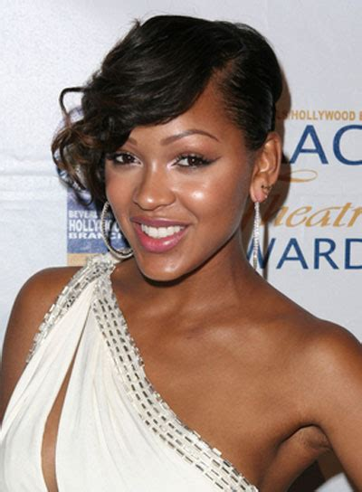 meagan good inspired hairstyle on short natural hair meagan good meets rihanna inspired short hair love