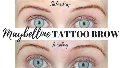 tattoo brow maybelline uk pink paradise beauty