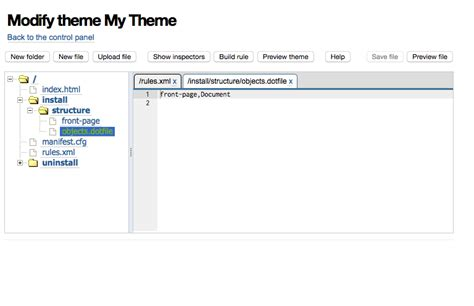 appscare edit the master of an imported theme in google github collective collective themesitesetup a plone app