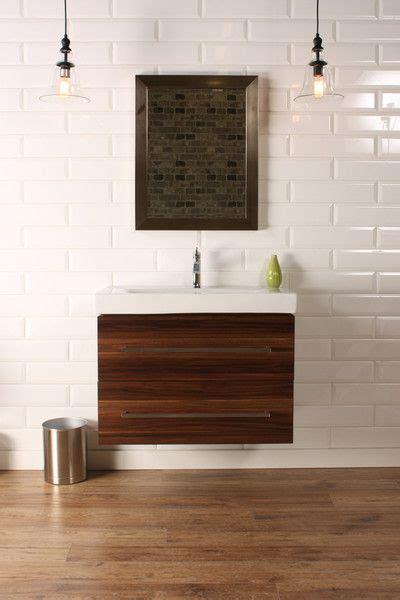 Modern Bathroom Vanities Canada Naos 32 Quot Walnut Modern Wall Mount Bathroom Vanity The Vanity Canada 32 Quot 1 Modern
