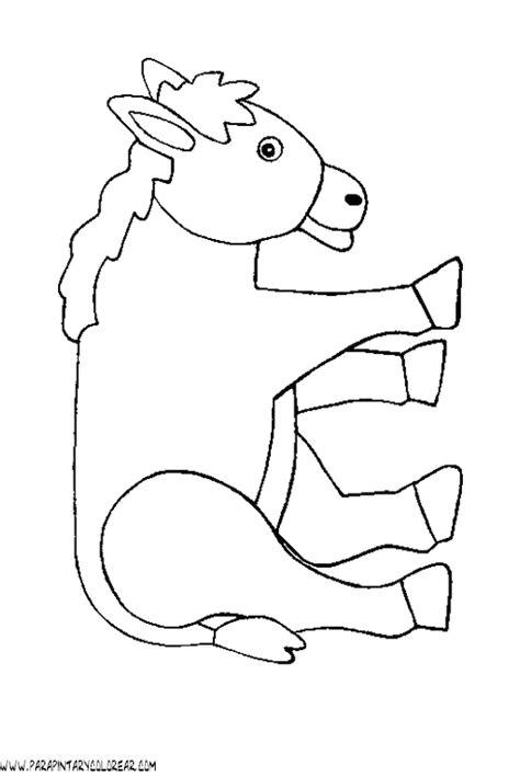 imagenes para colorear burro burro para colorear
