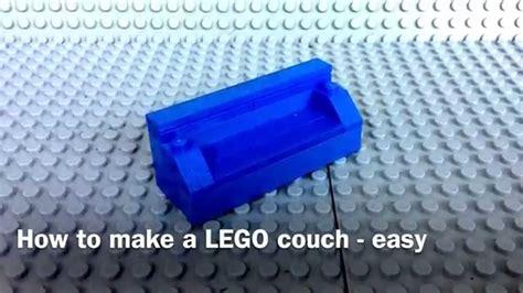 how to make a settee tutorial how to make a lego sofa easy youtube