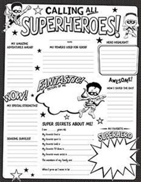 heroes printable worksheets 1000 ideas about superhero template on pinterest self