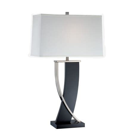 table ls with light in base lite source ls 21788 espresso single light up