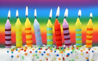 happy birthday candles and cake wallpaper hd for desktop