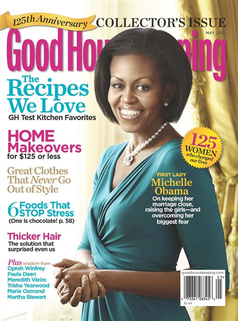 good housekeeping com first lady michelle obama graces the cover of good