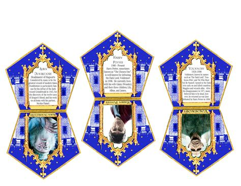 chocolate frog box template with cards birthday blueprint