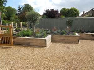 Raised Garden Beds Brick - granite sett entrance with feature frontage upper broughton david greaves landscape design