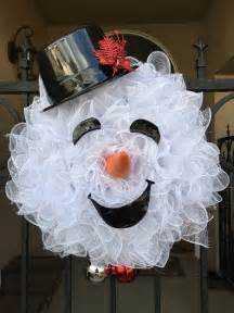 Diy Halloween Window Decorations Snowman Wreath Ideas How To Make A Gorgeous Christmas Wreath