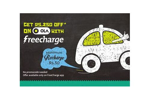 freecharge coupons ola cabs