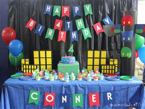 Pink Elephant Baby Shower Ideas by Pj Masks Birthday Party Ideas Photo 1 Of 11 Catch My Party