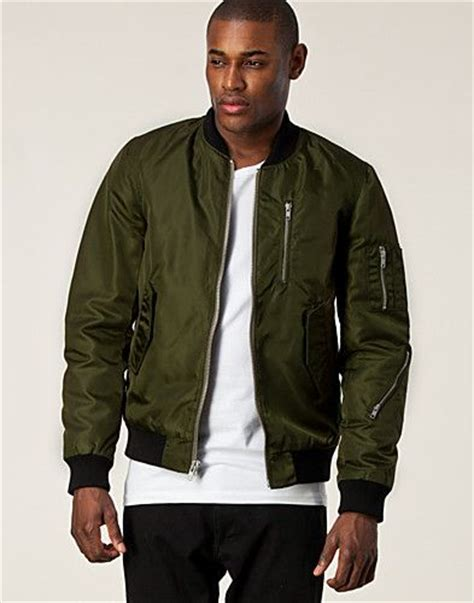 Jaket Bomber Motor Browngreen Army mens fashion clothing jackets and army green on