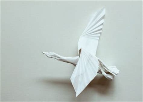 Flying Swan Origami - the world s catalog of ideas
