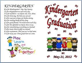 Preschool Graduation Program Template by Graduation Program Template