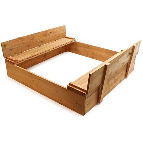 sandpit bench sandbox lift up cover sandpit bench digging box 51387