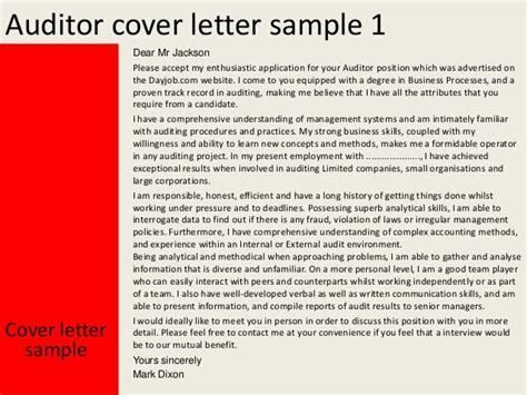 Qa Auditor Cover Letter by Entry Level Auditor Cover Letter