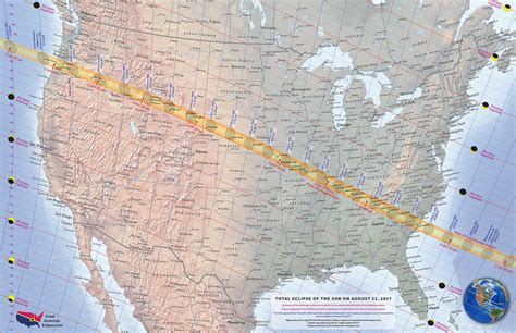 map us eclipse national maps total solar eclipse of aug 21 2017