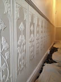 Lincrusta Wainscoting Lincrusta Dado Panels Installation Project In Cheshire