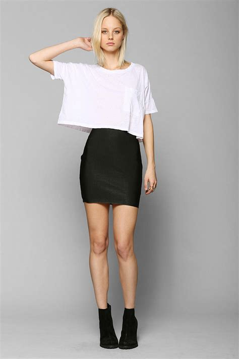 Bodycon Mini Skirt lyst outfitters sparkle fade bodycon bandage mini