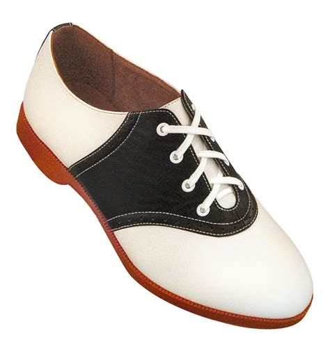 Saddle Shoes by Retro Saddle Shoes Black White Two Toned Oxford Shoes