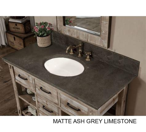 48 inch bathroom vanity with top accos 48 inch rustic bathroom vanity matte ash grey