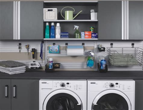 Laundry Room In Garage Decorating Ideas Modern Laundry Room In Garage Or Utility Area