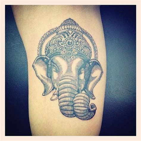 ganesh tattoo ribs ganesha tattoo via meliciousss88 cryptikmovement