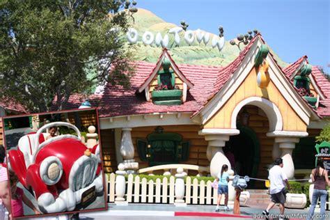 toontown house disneyland park california adventures with family