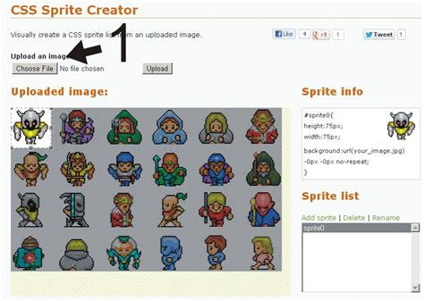 making css online top 10 absolutely free online css sprites generators and